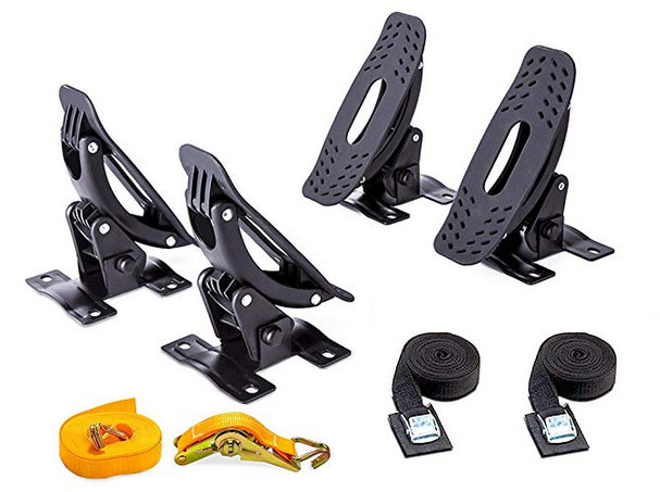 Roof Top Mount Rack for Car (SUV, Truck) with Straps detail review