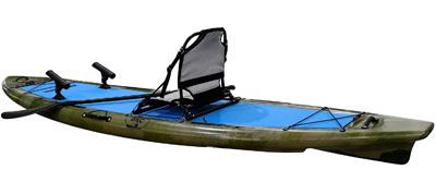 The Best Balanced Fishing Platform (SUP-Yak Hybrid) with Seat [Brooklyn Kayak] review