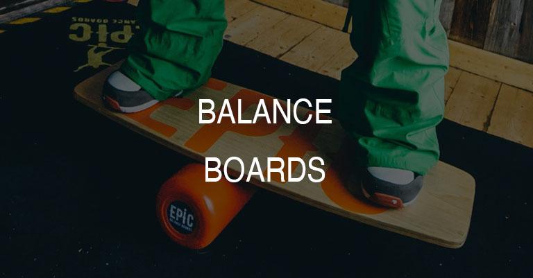 Balance Boards for Surfing, Wakesurfing, Paddleboarding, Kiteboarding