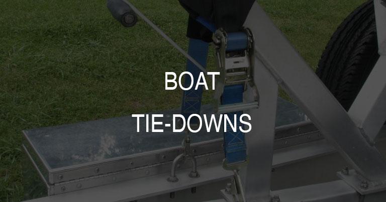 Retractable Boat Tie-Down Straps