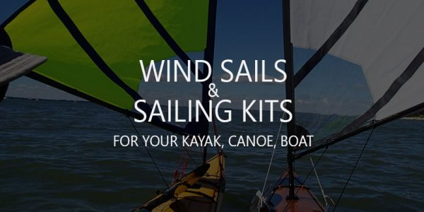 Best Folding Wind Sails and Sailing Kits for Kayak, Canoe, Boat