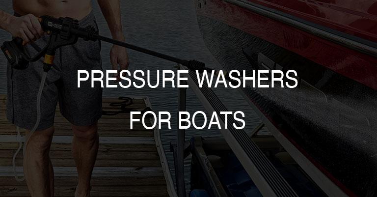 Pressure Boat Washers