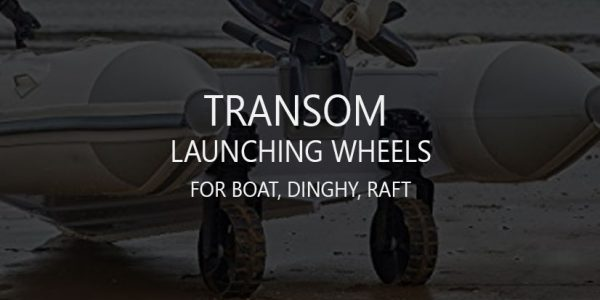 Best Boat, Dinghy, Raft Transom Launching Wheels