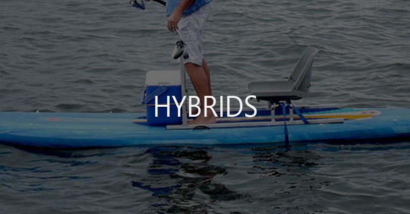 SUP Paddle Board Kayak Hybrids
