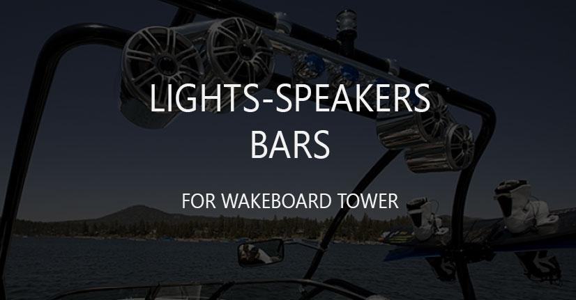 Boat Led Light-Speaker Bars
