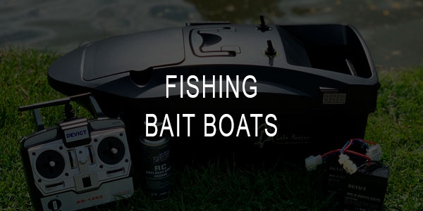 Fishing Bait Boats for Carp and Other Fish