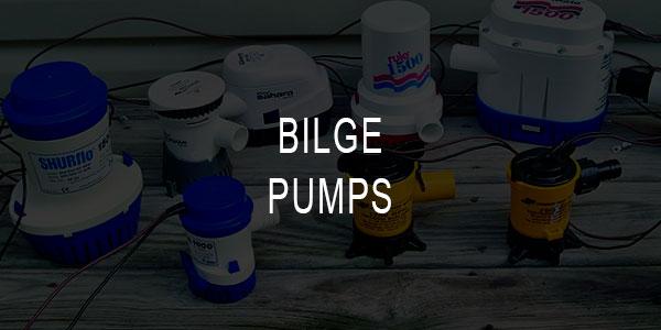 Manual/Automatic Bilge Pumps for Boat